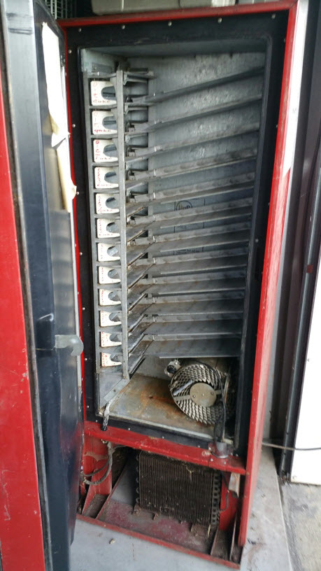 63 Vendo Coca Cola Machine Ready For Restore Or For The