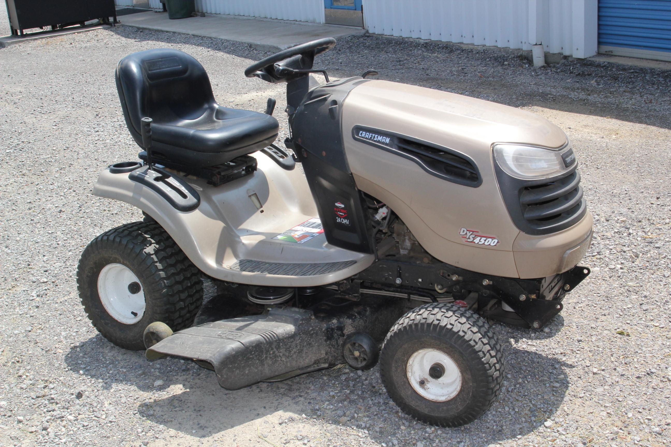 Sear Craftsman Sears Dys 4500 Yard Tractor Garden Lawn Meadville Pa