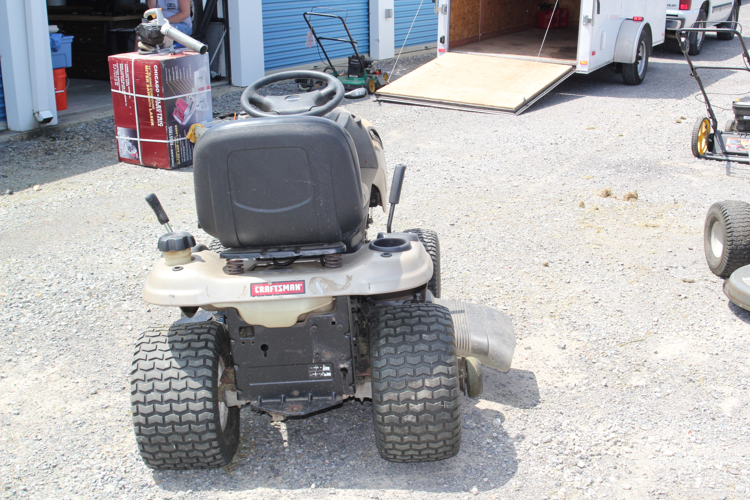 Craftsman ys 4500 lawn Tractor Owner s manual